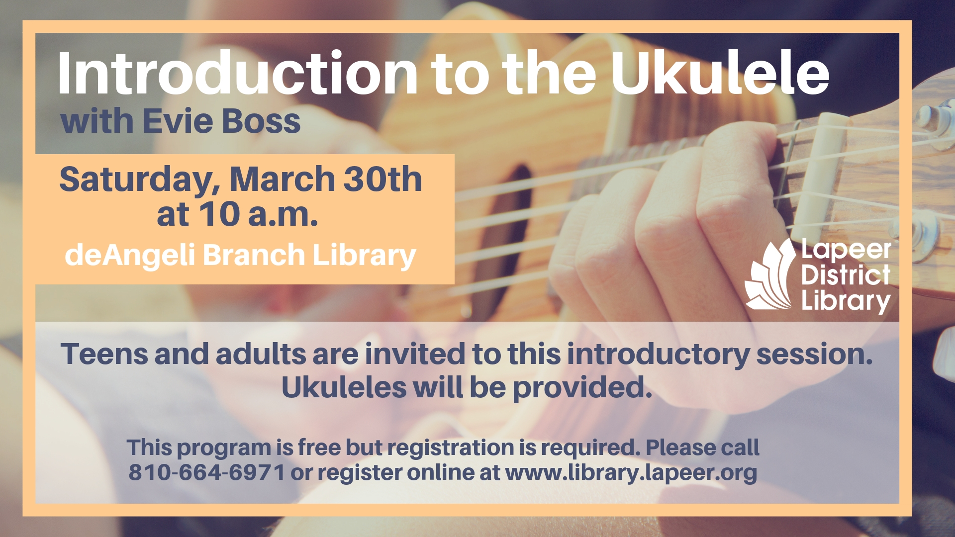 Introduction to the Ukulele with Evie Boss