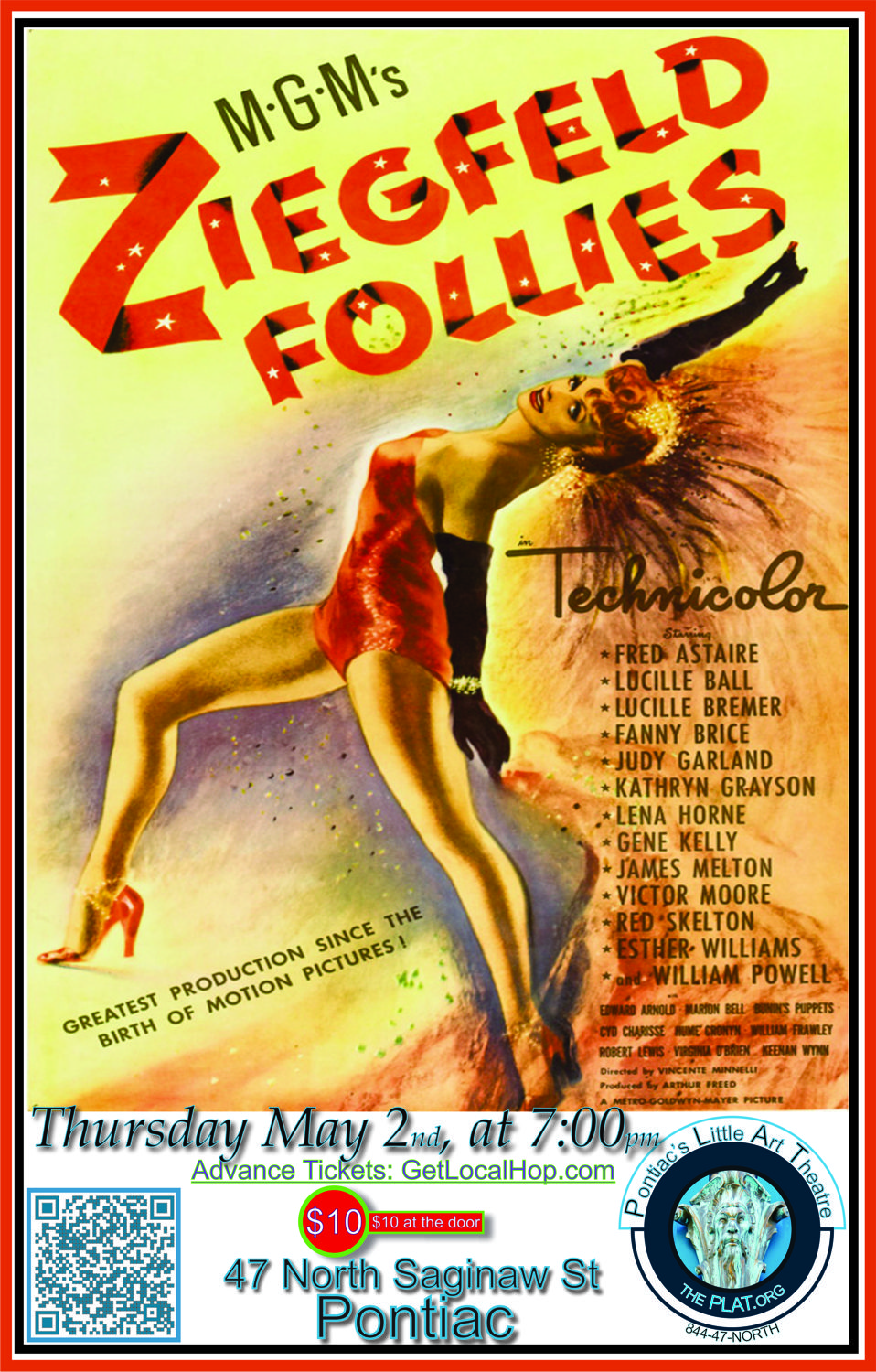 ZIEGFELD FOLLIES in HD