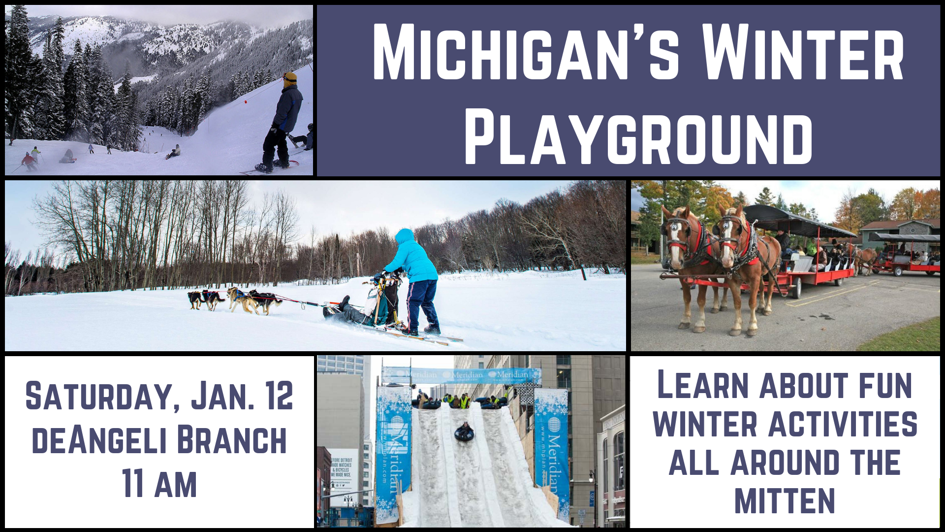 Michigan's Winter Playground