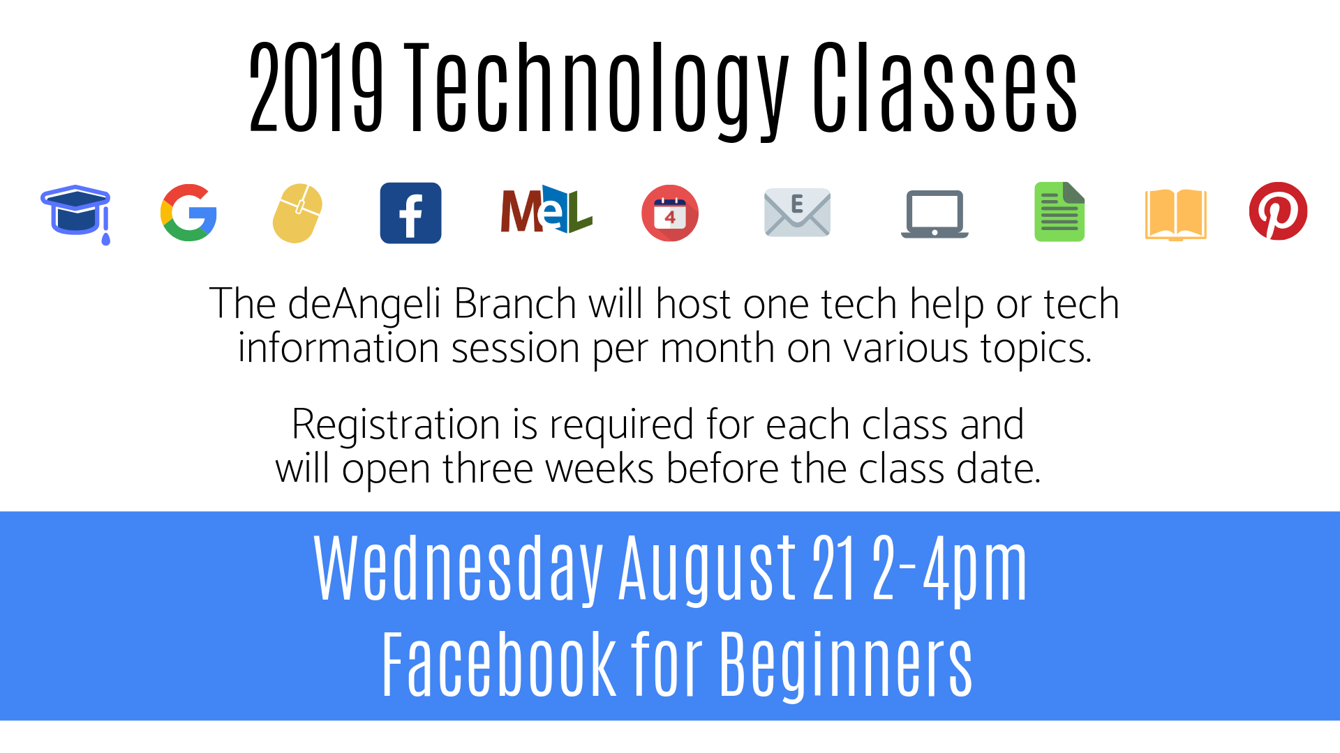 Facebook for Beginners Technology Session