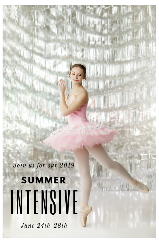 Summer Intensive - Junior Division- Ages 8-11yrs