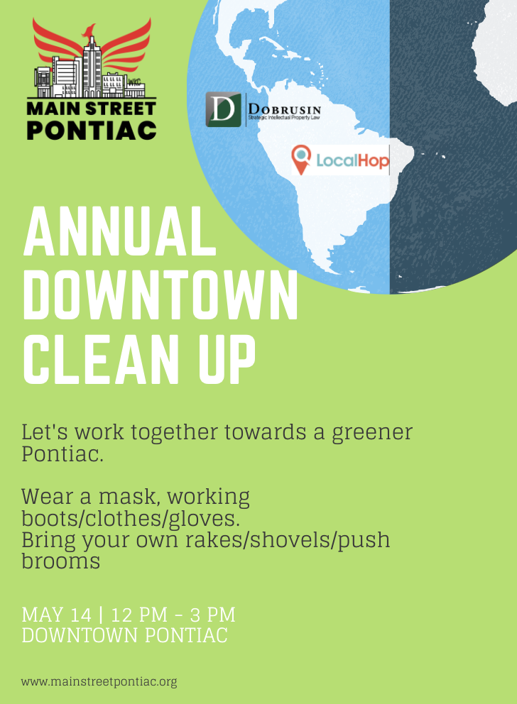 Earth Day Downtown Clean up