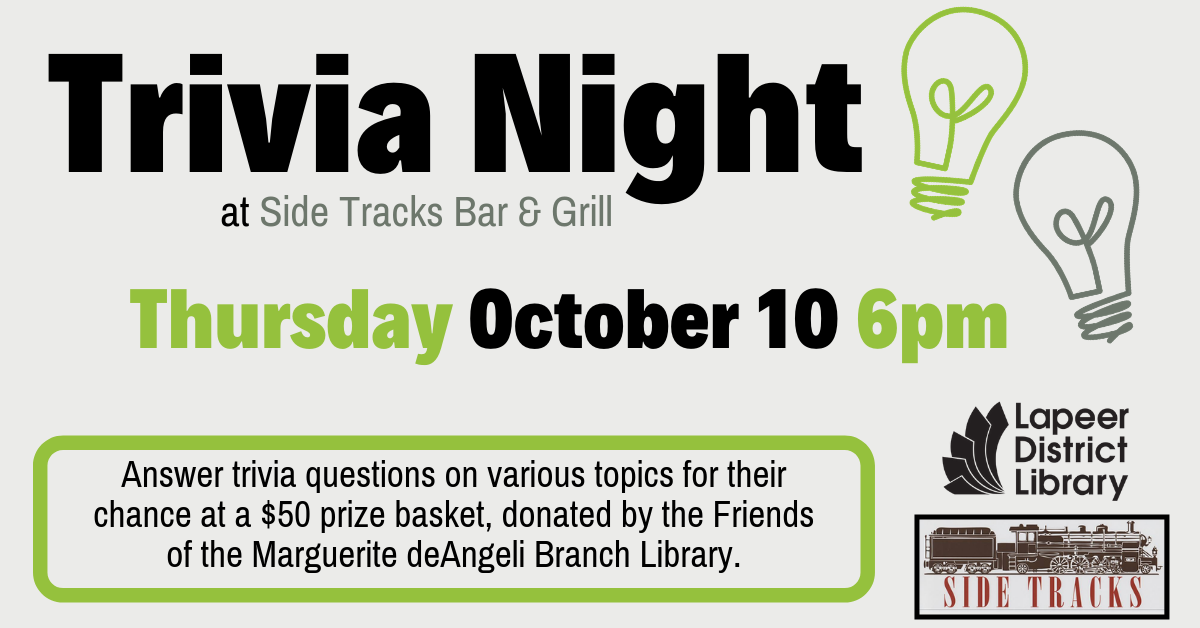 General Trivia Night at Side Tracks Bar & Grill