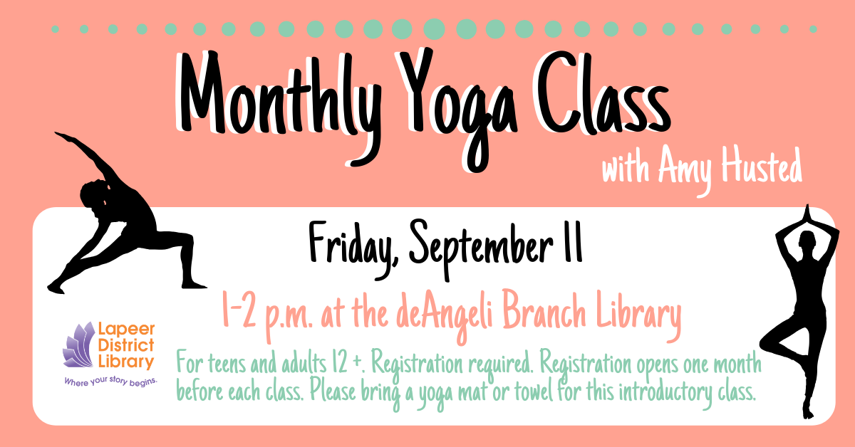 Monthly Yoga Class-September