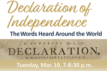 SMART TOWNS: Declaration of Independence: The Words Heard Around the World