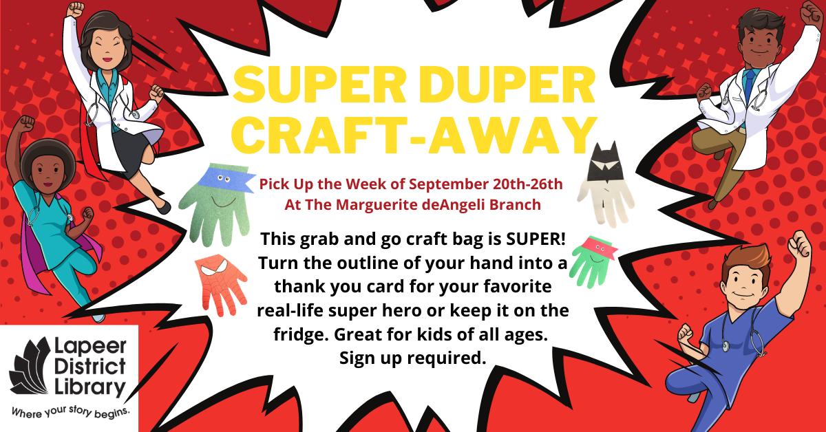 SUPER DUPER Craft-Away