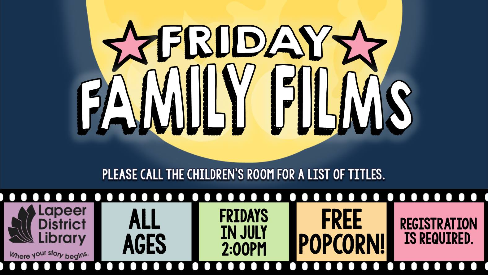 Family Film Fridays