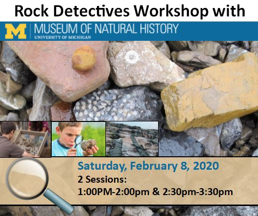 Rock Detectives with U of M Museum of Natural History
