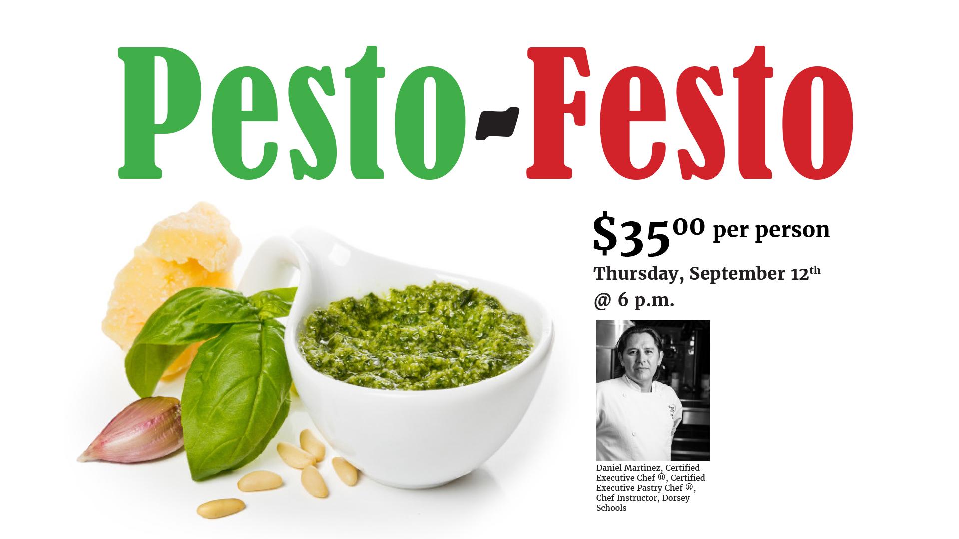Pesto Festo @ Goldner Walsh