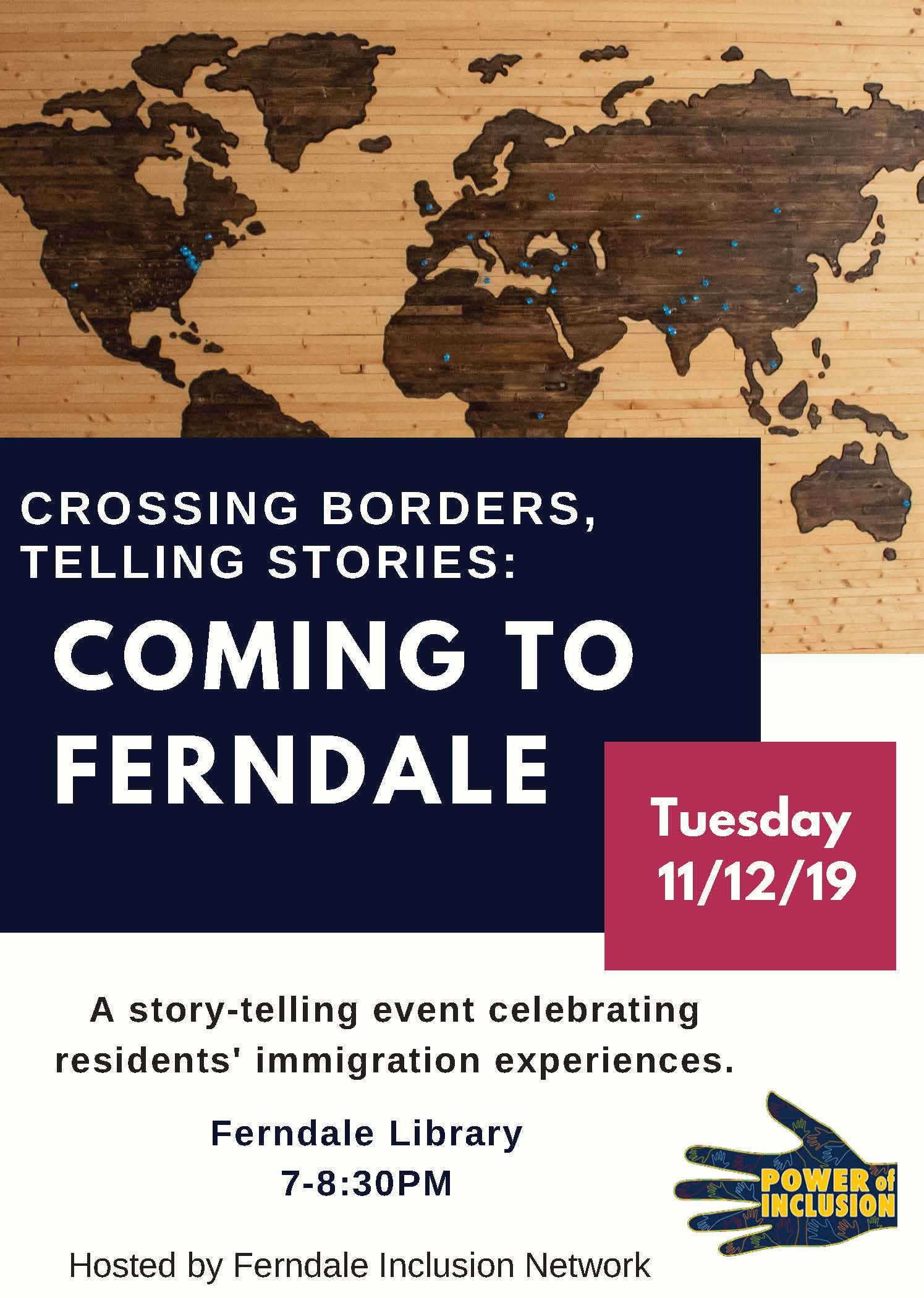 Crossing Borders, Telling Stories: Coming to Ferndale