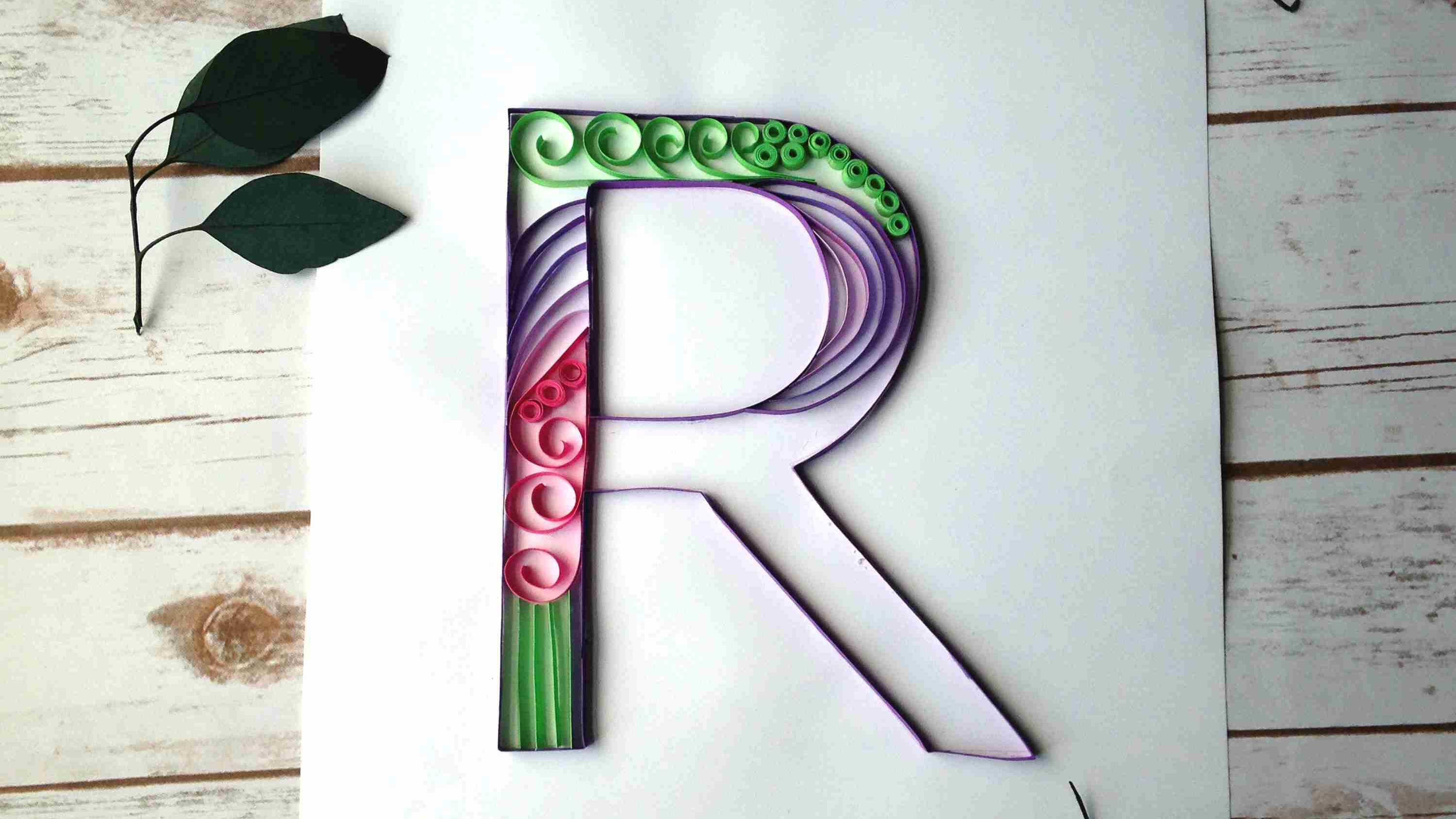 Quilled Monograms