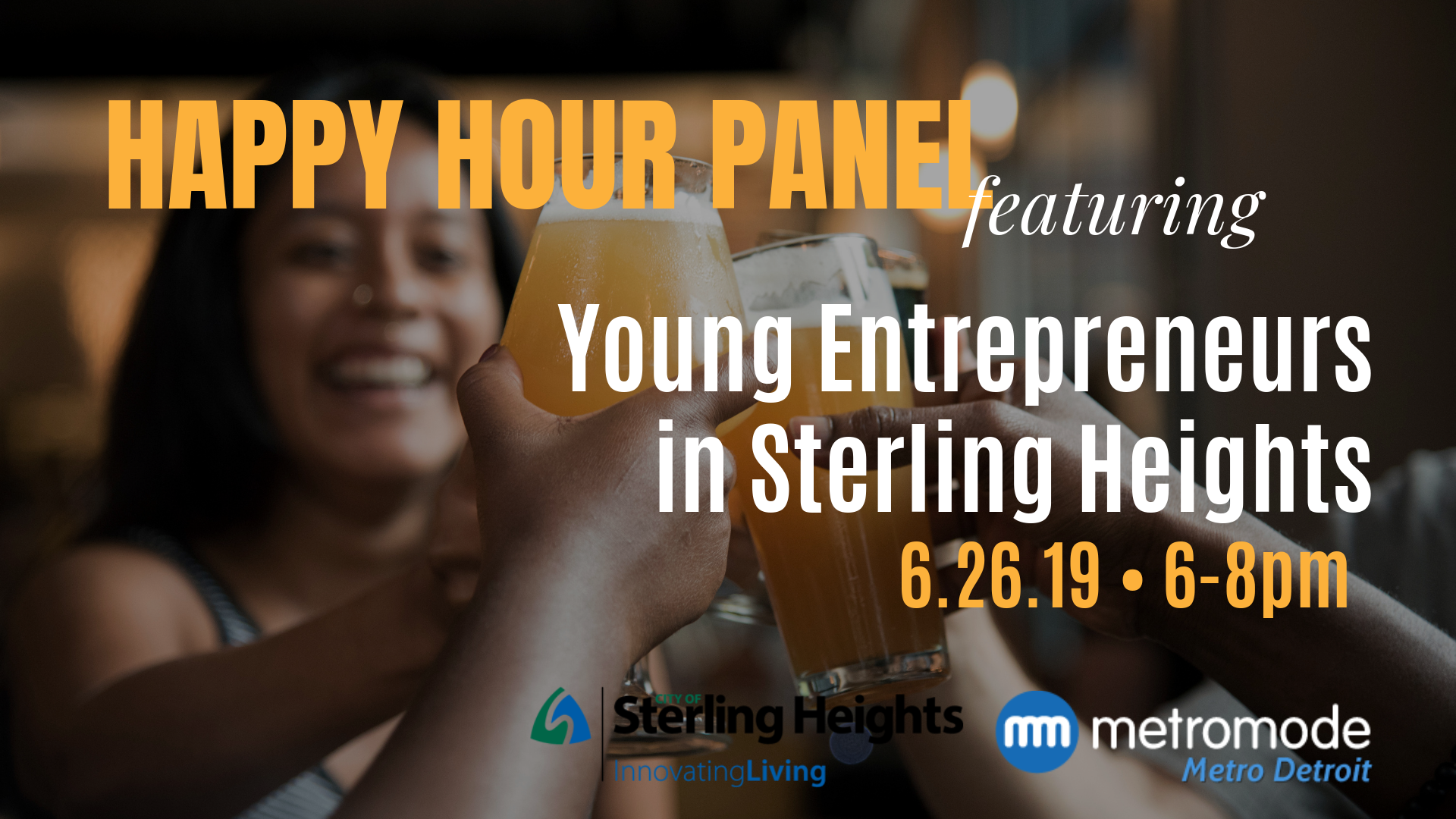 Happy Hour Panel: Young Entrepreneurs in Sterling Heights