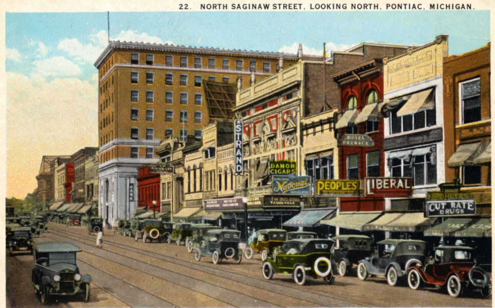 Downtown Pontiac Historic Art & Architecture Tour