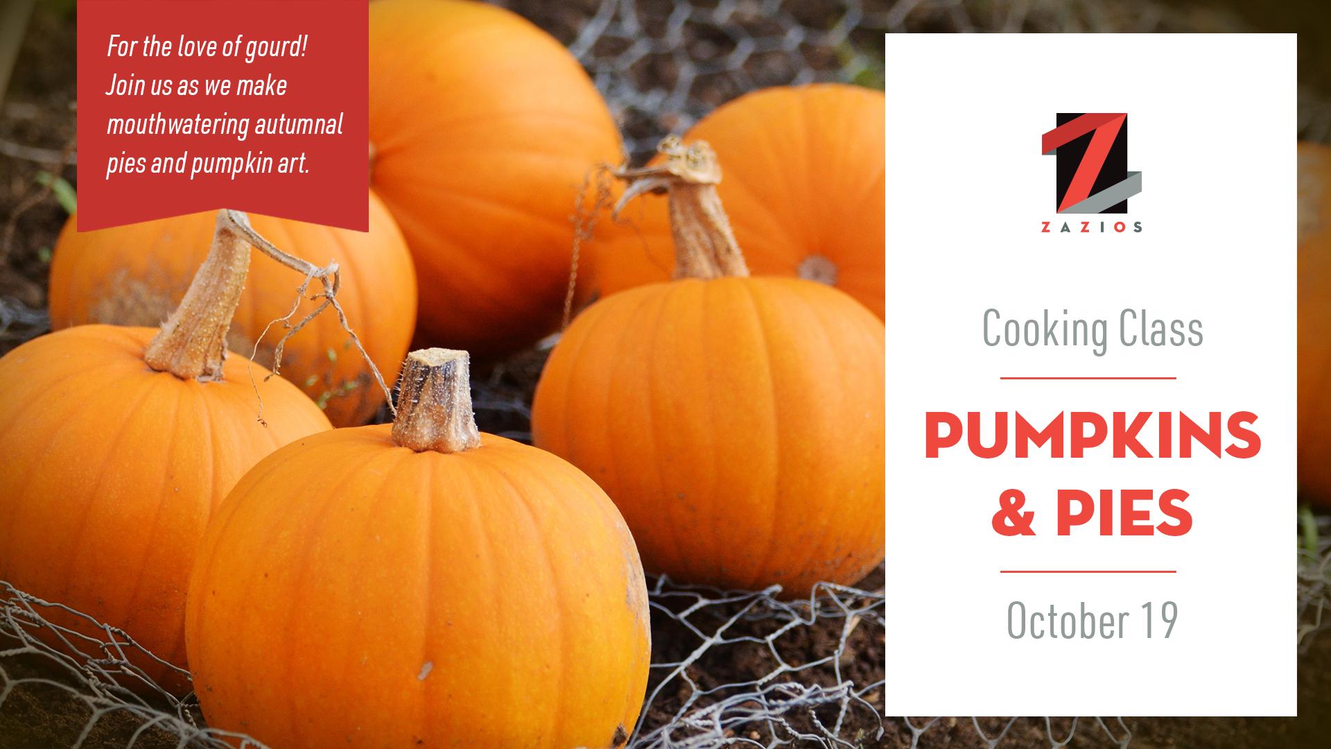 Pumpkin & Pies Cooking Class