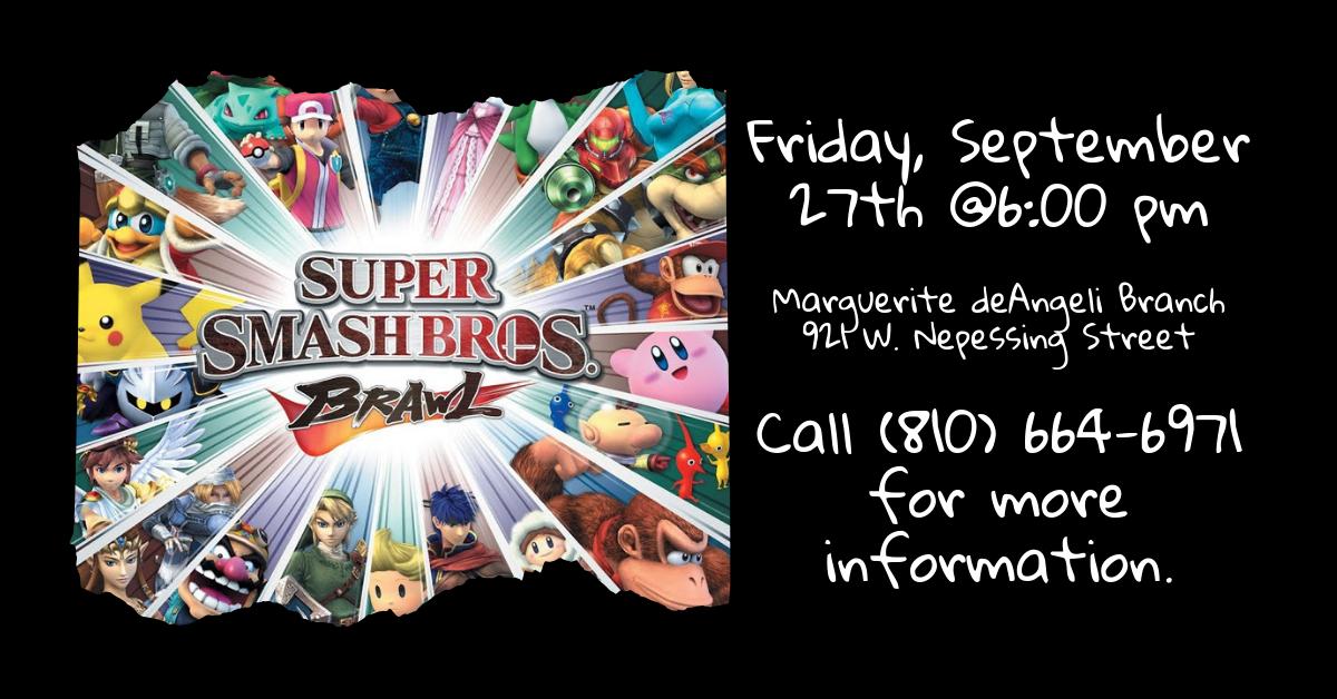 Super Smash Bros Brawl© Tournament