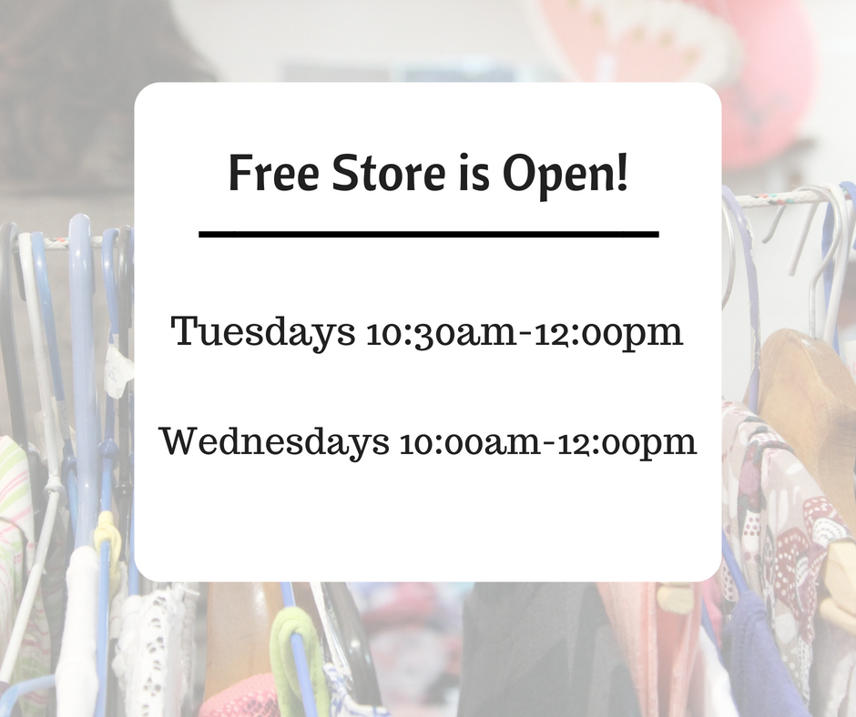 Free Store Open!