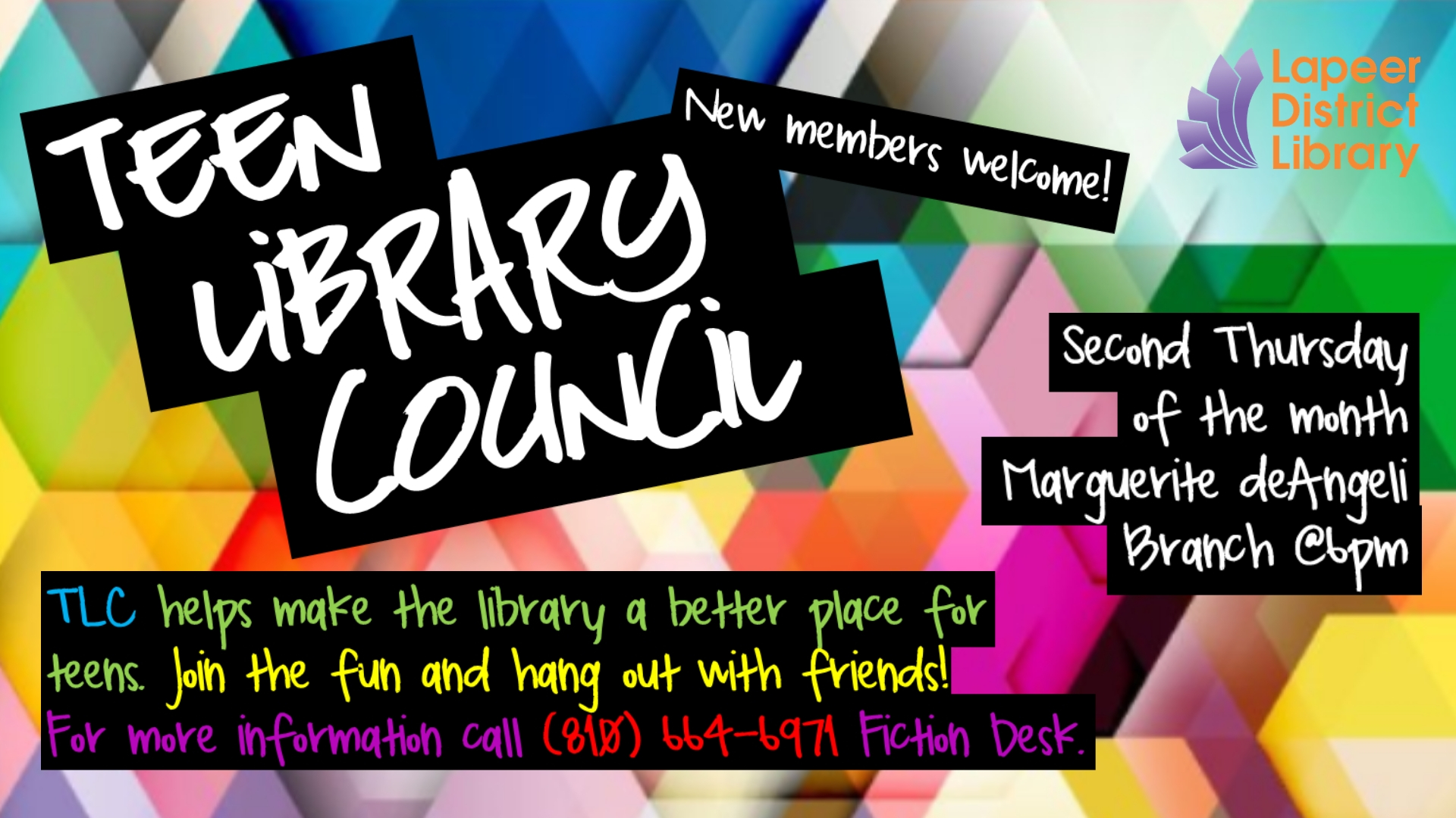 Teen Library Council (TLC)