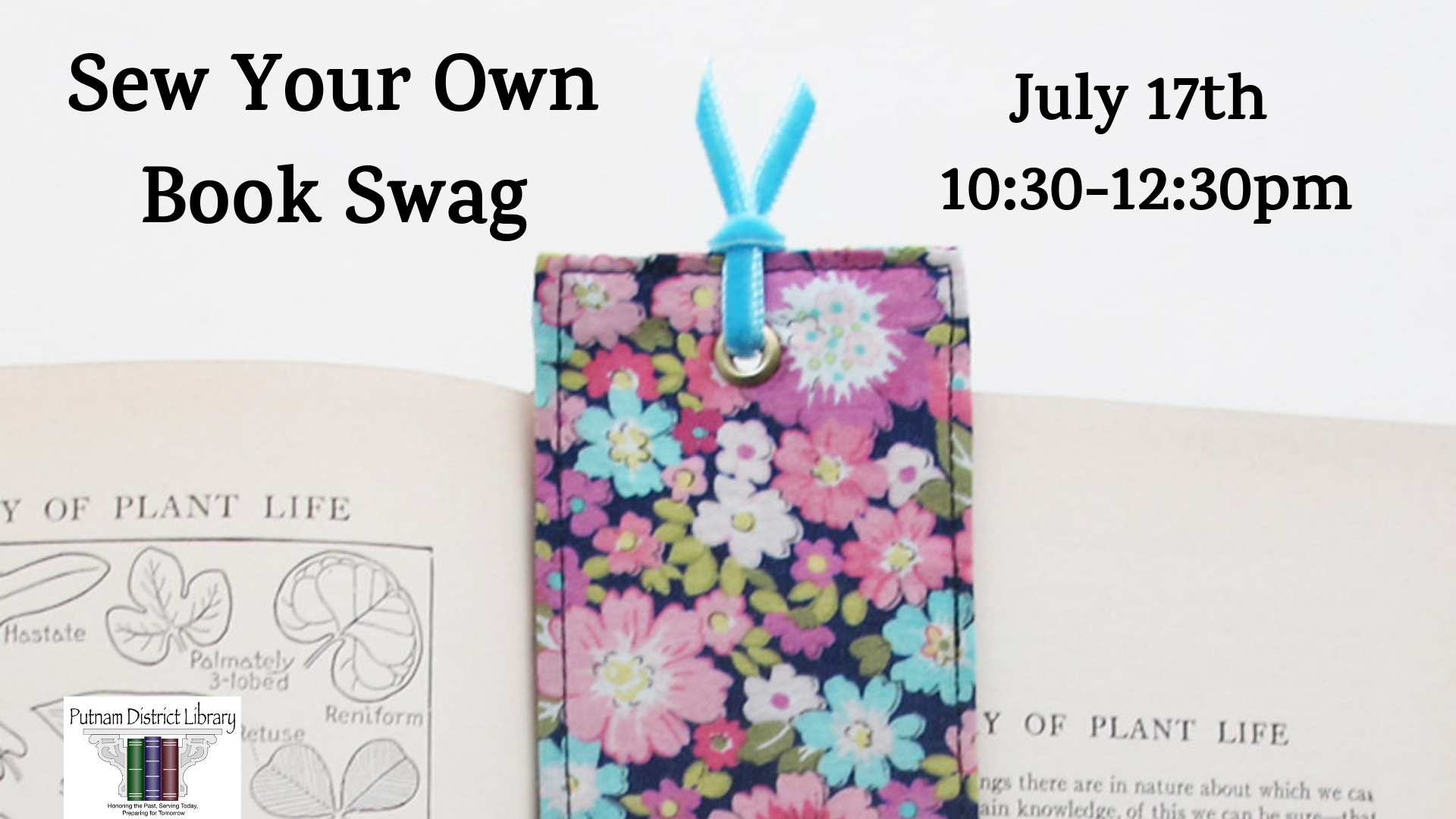 Sew Your Own Book Swag
