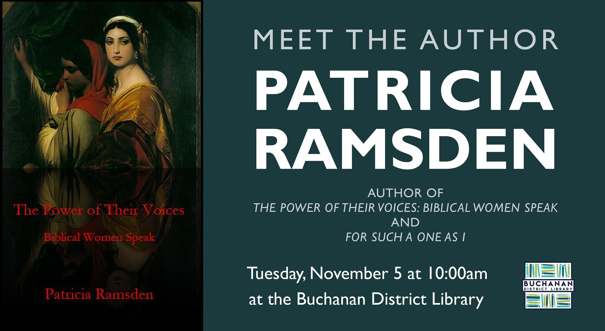 Meet the Author: Patricia Ramsden
