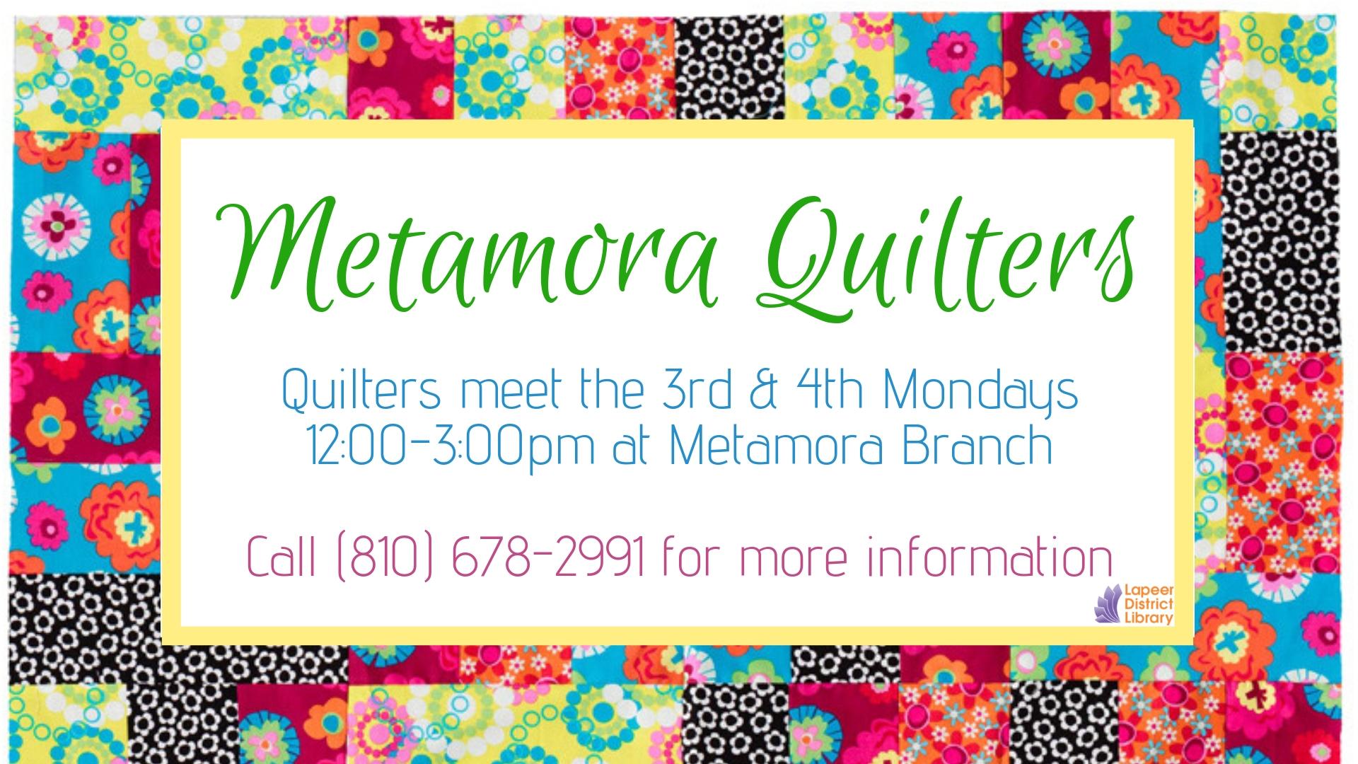 Metamora Quilters