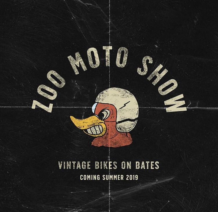 Zoo Moto Vintage Bikes on Bates - June 16