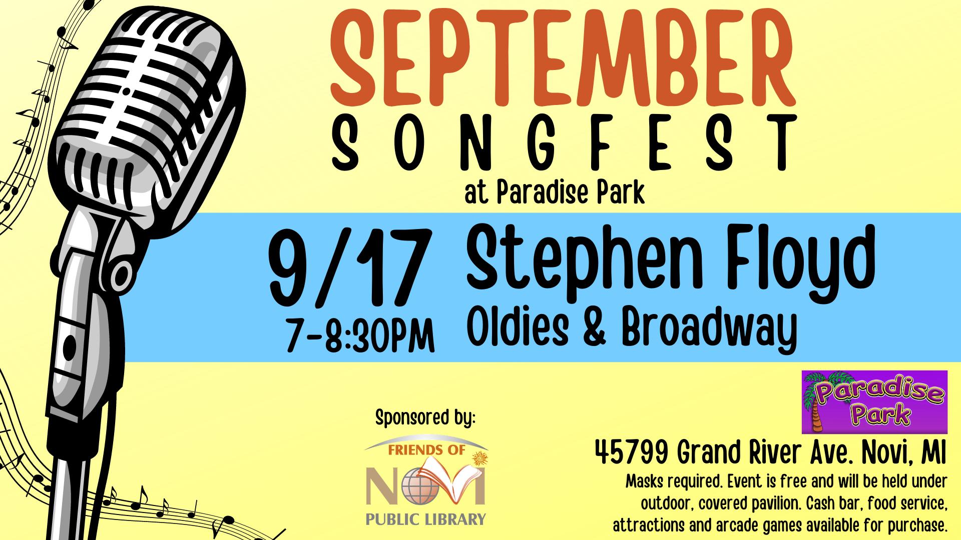September Songfest - Stephen Floyd