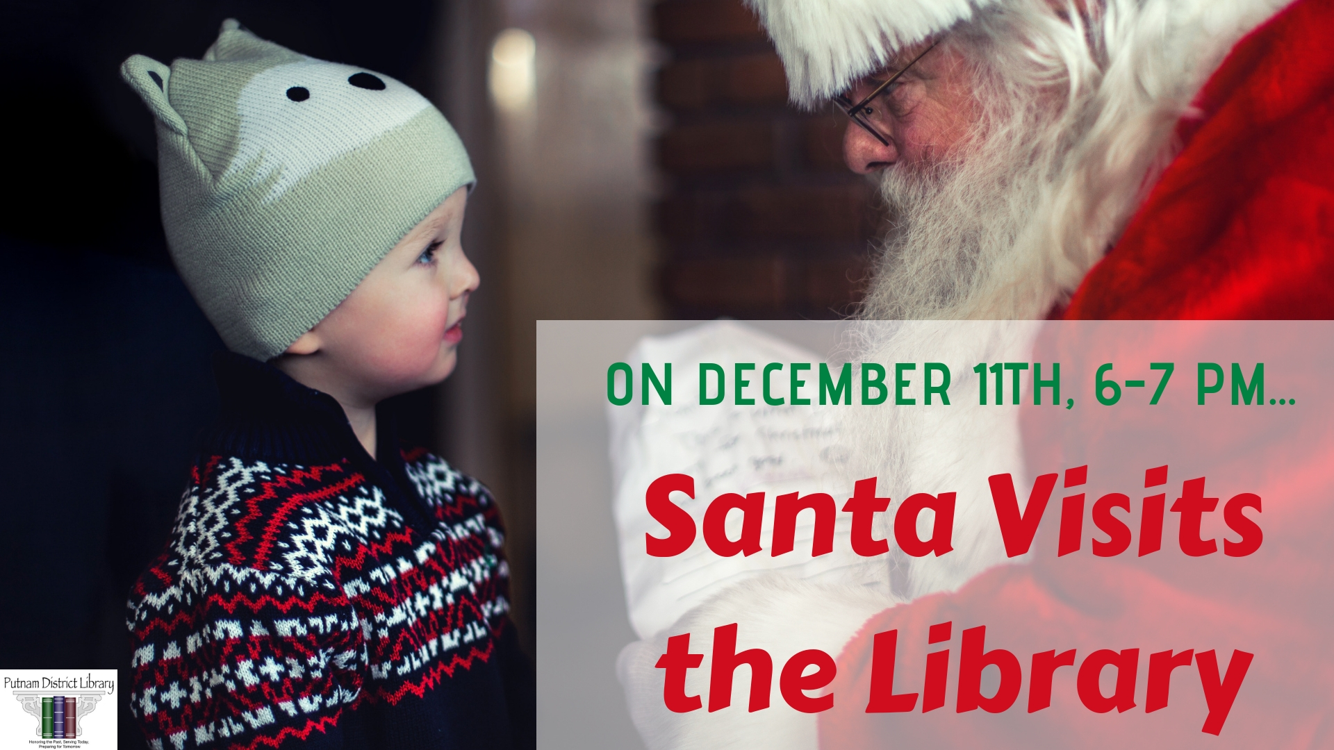 Santa Visits the Library!