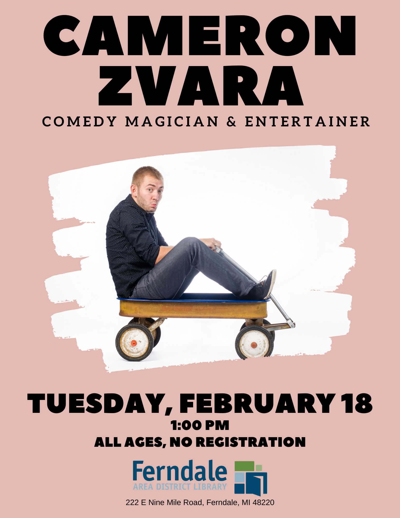 Cameron Zvara: Comedy Magician & Entertainer (All Ages)