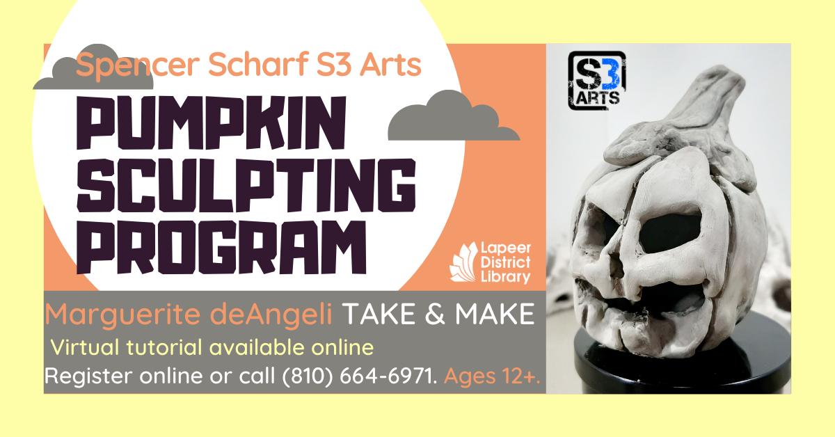 Pumpkin Sculpting with clay - Take & Make