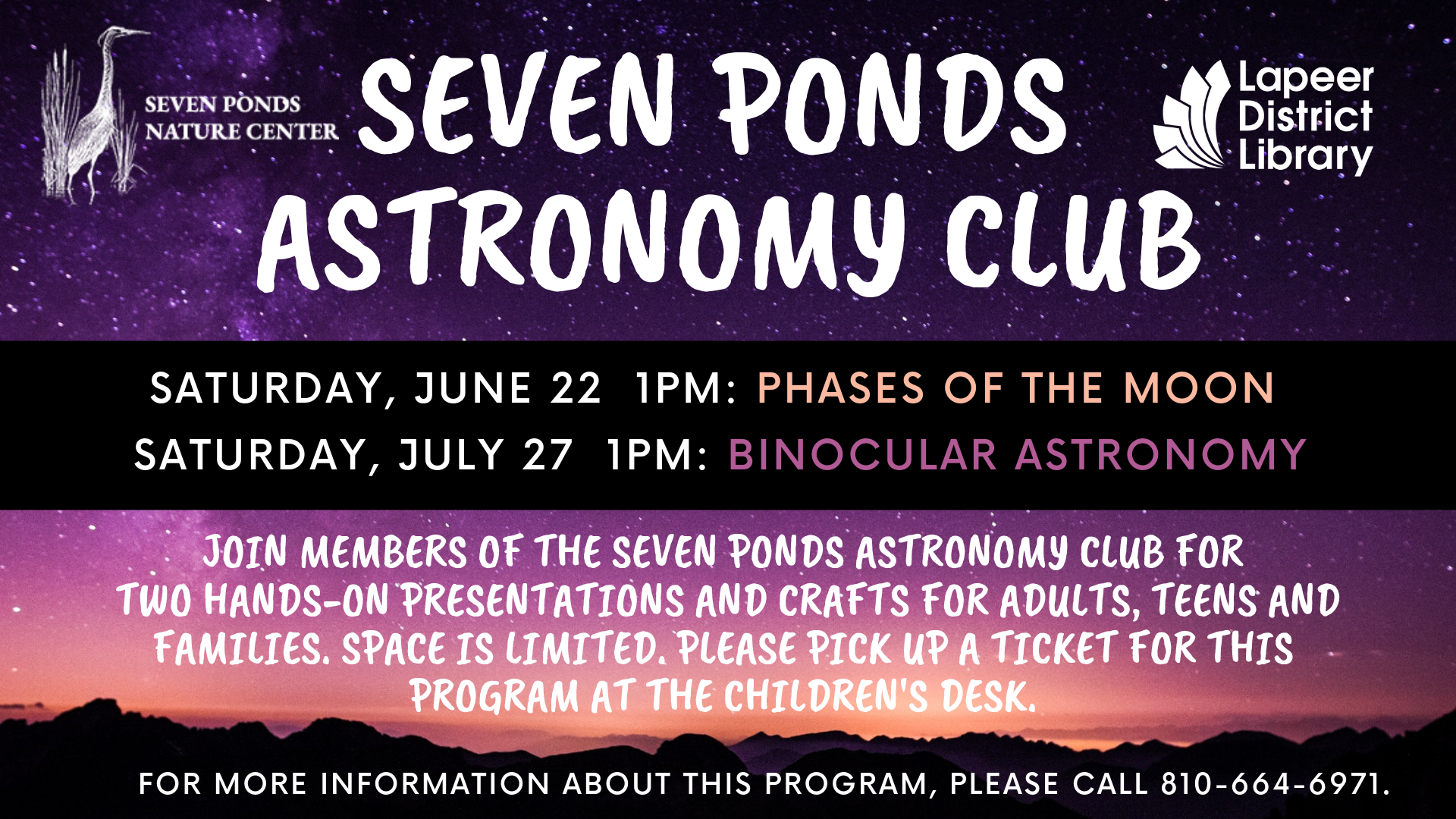 Seven Ponds Astronomy Club