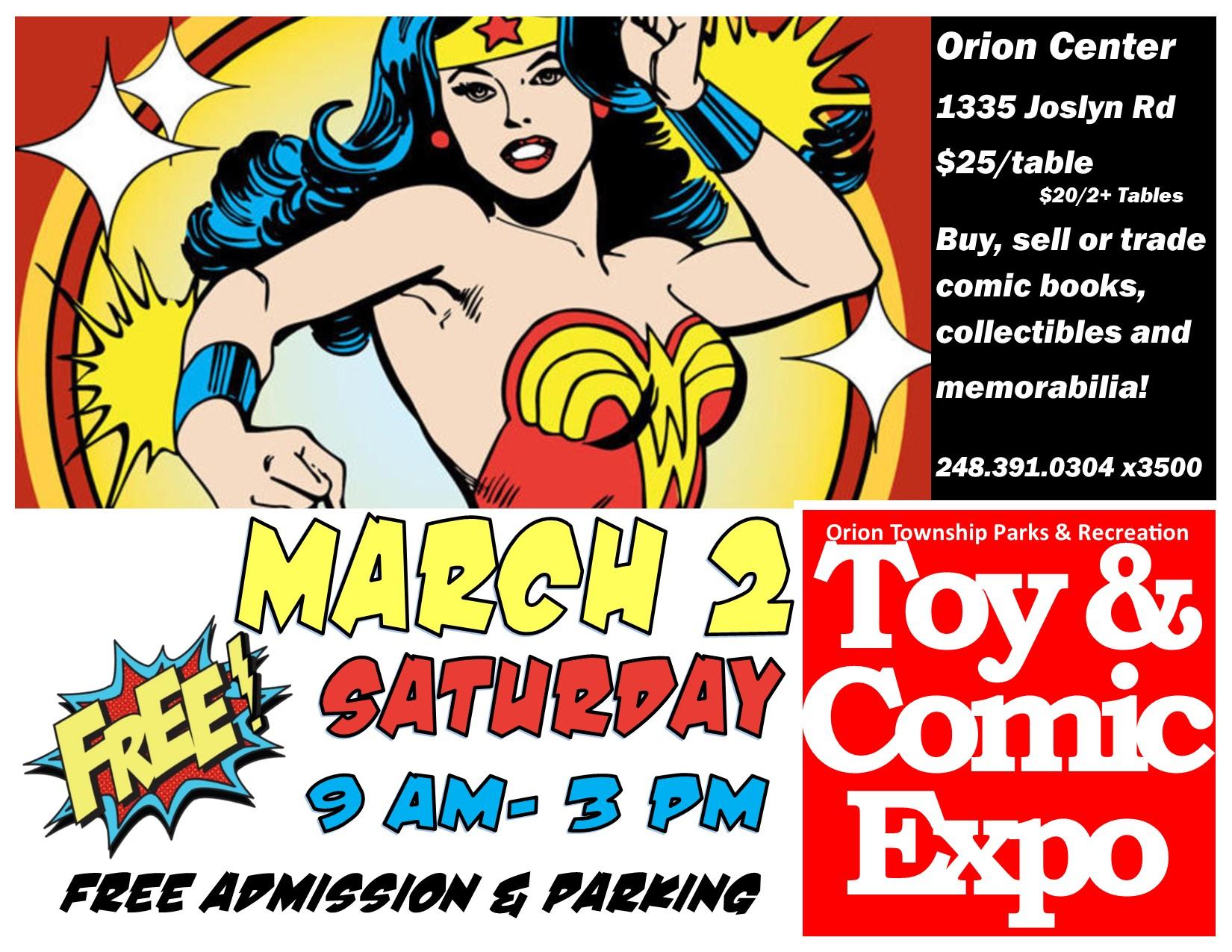 Toy & Comic Expo