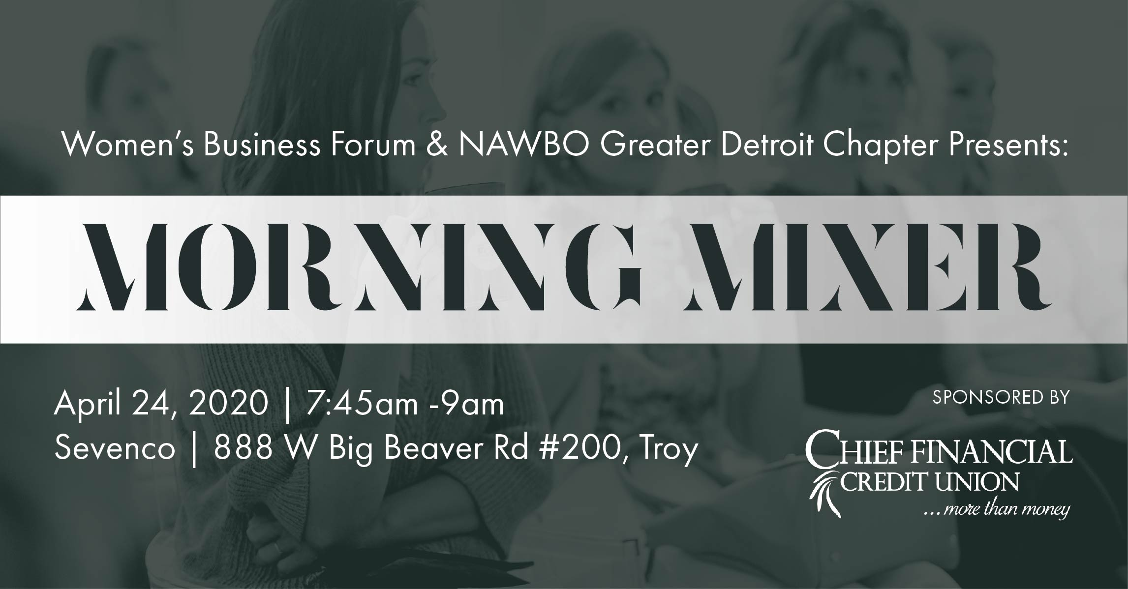 Women's Business Forum & NAWBO Greater Detroit Chapter Presents: Morning Mixer