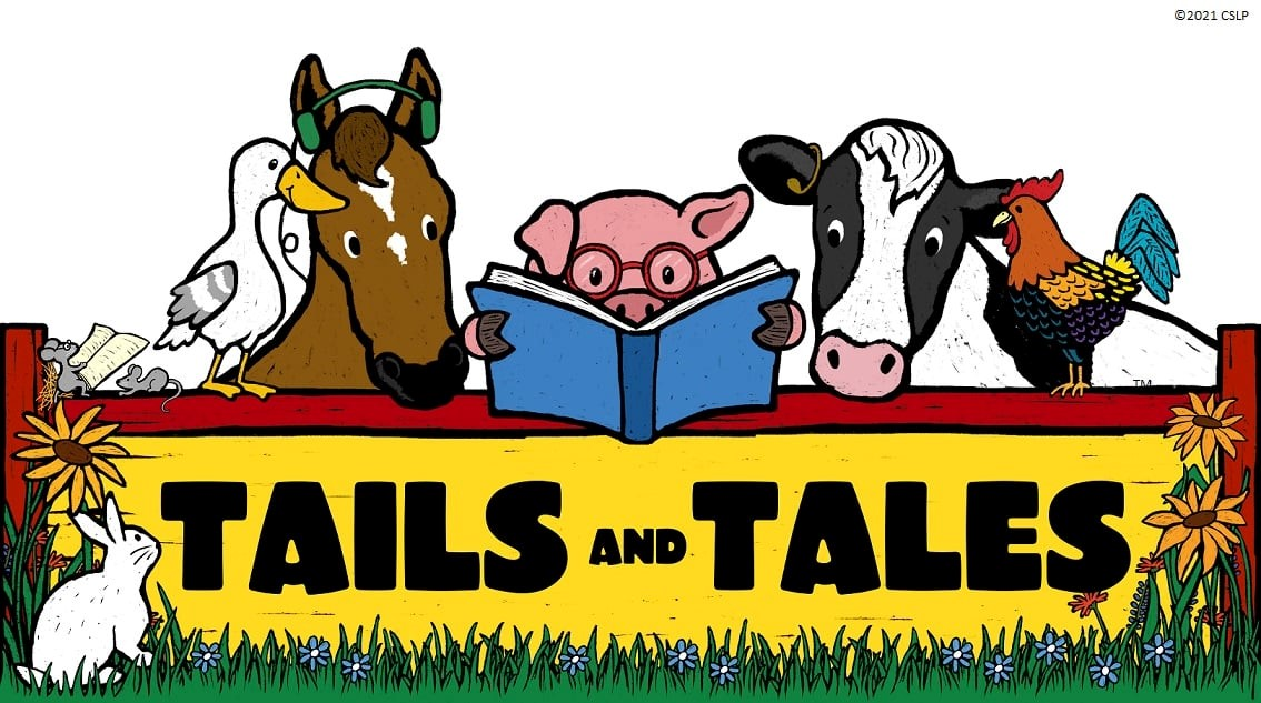 Tails and Tales 2021 Summer Reading Sign-up