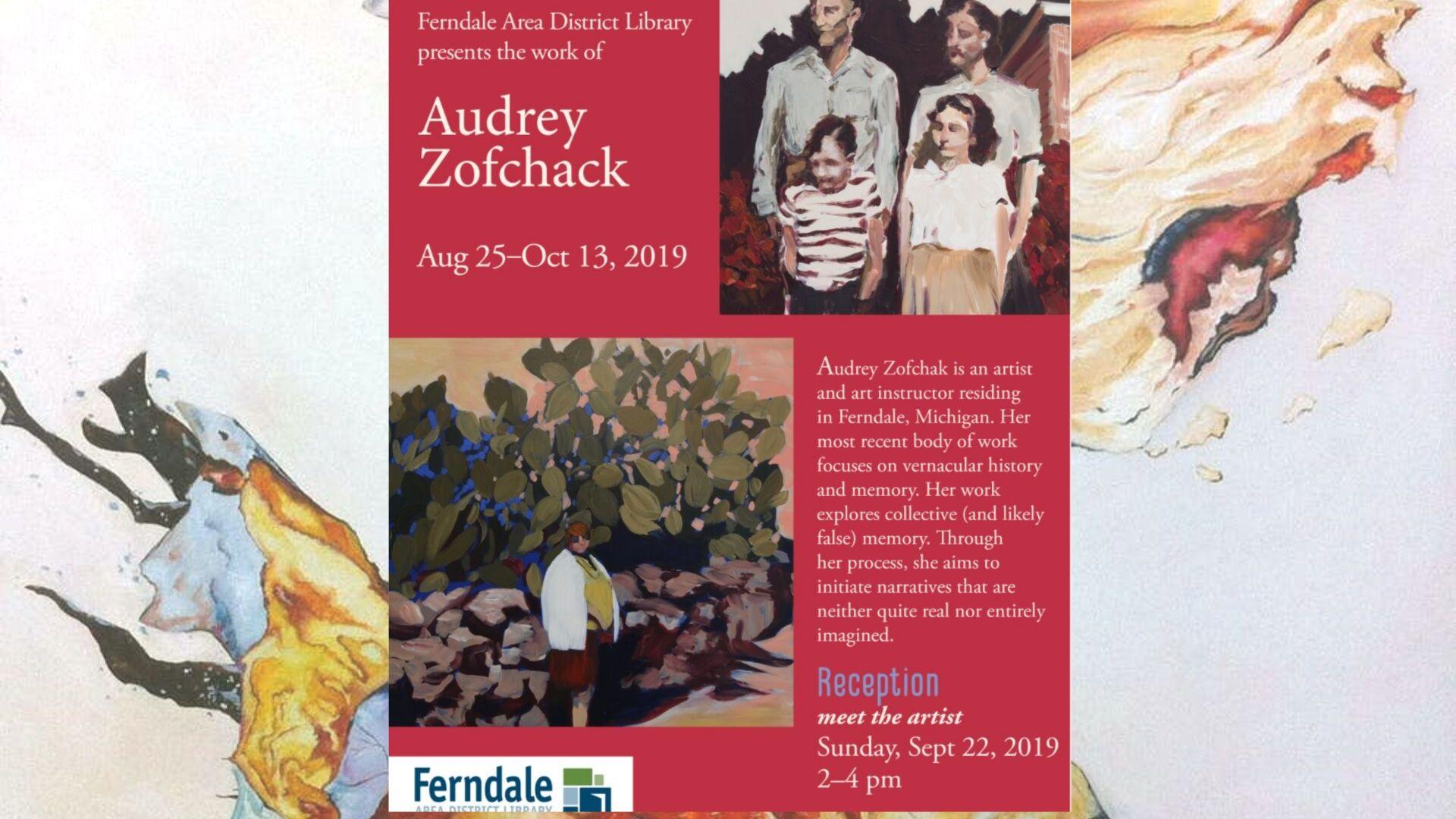 Art Reception for Audrey Zofchak
