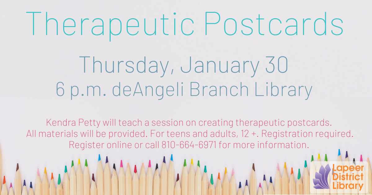 Therapeutic Postcards with Kendra Petty