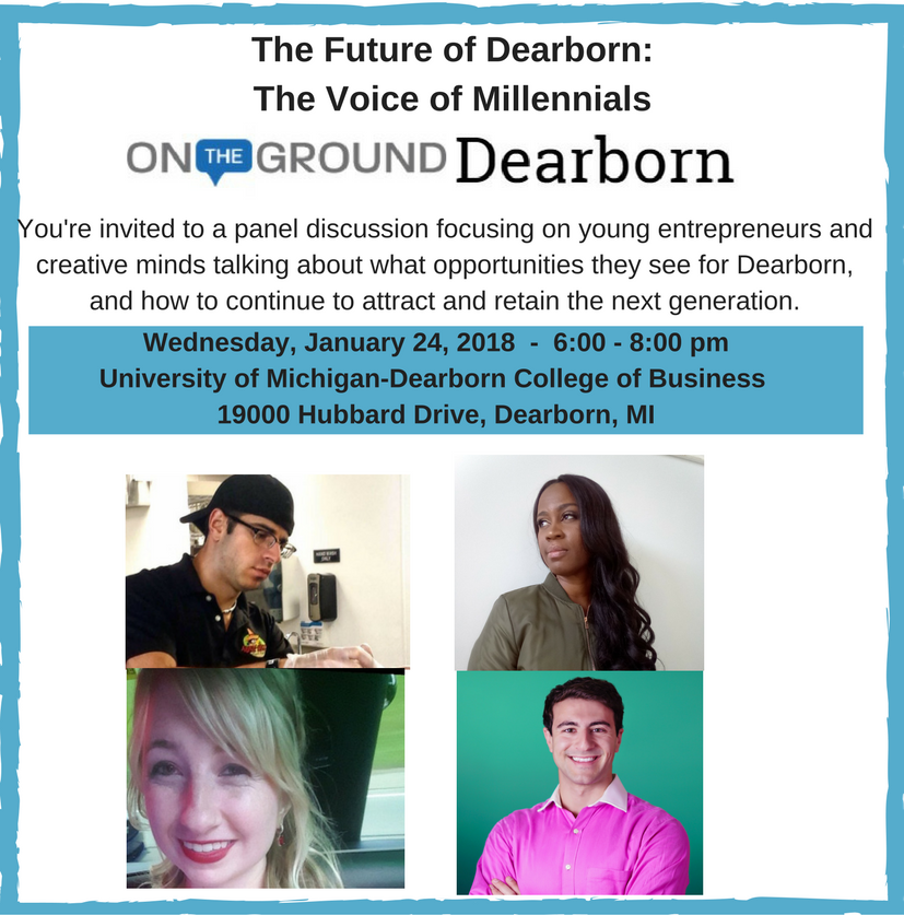 The Future of Dearborn: The Voice of Millennials
