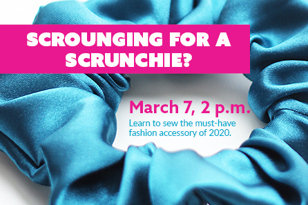 Scrounging for a Scrunchie?