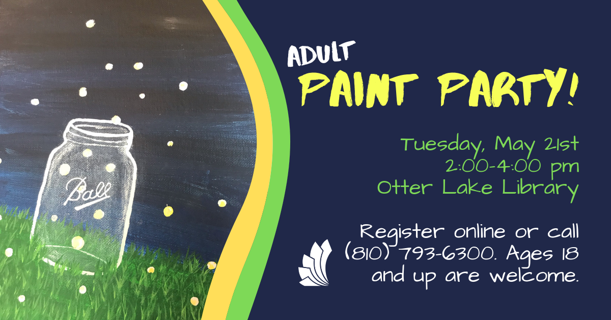 Paint Party! - Otter Lake