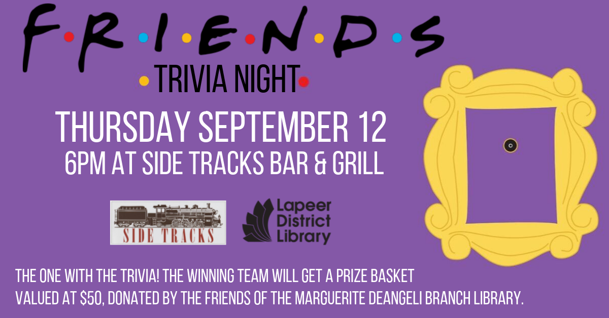 Friends Trivia Night at Side Tracks Bar & Grill