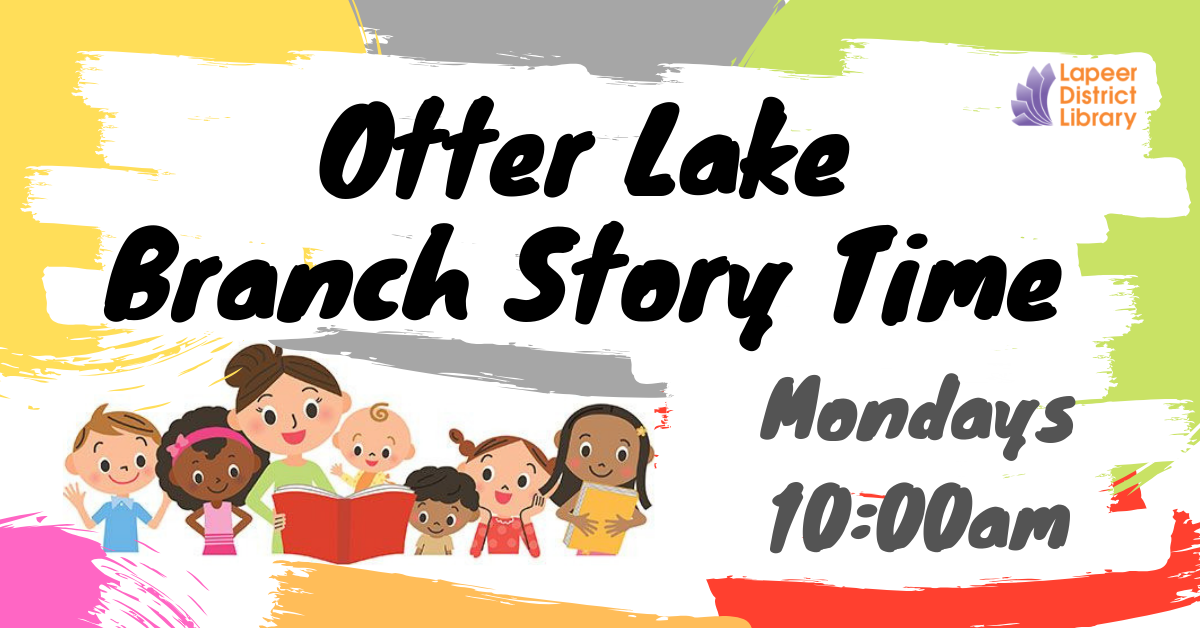 Story time! - Otter Lake