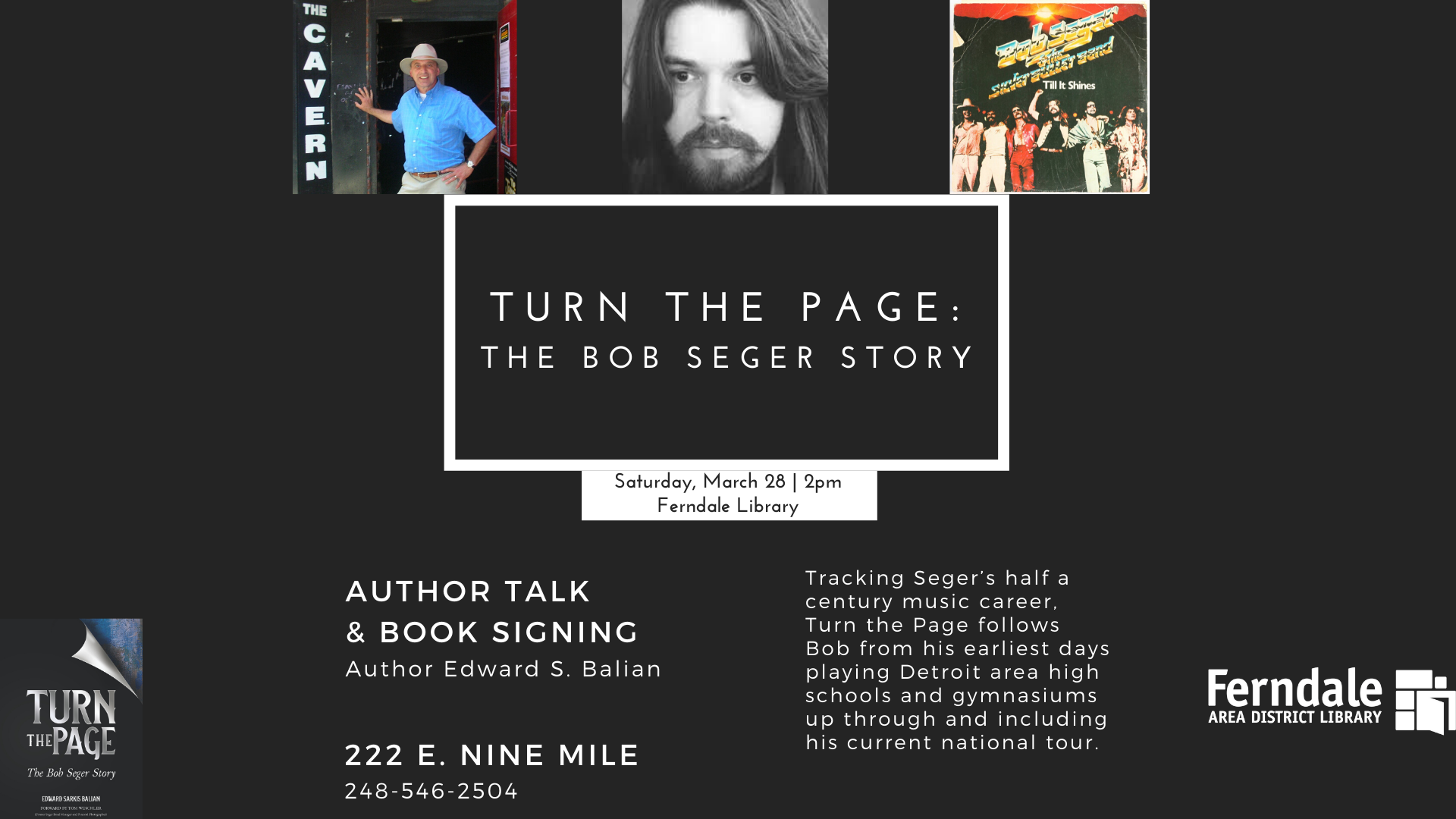 CANCELED- Turn the Page: The Bob Seger Story