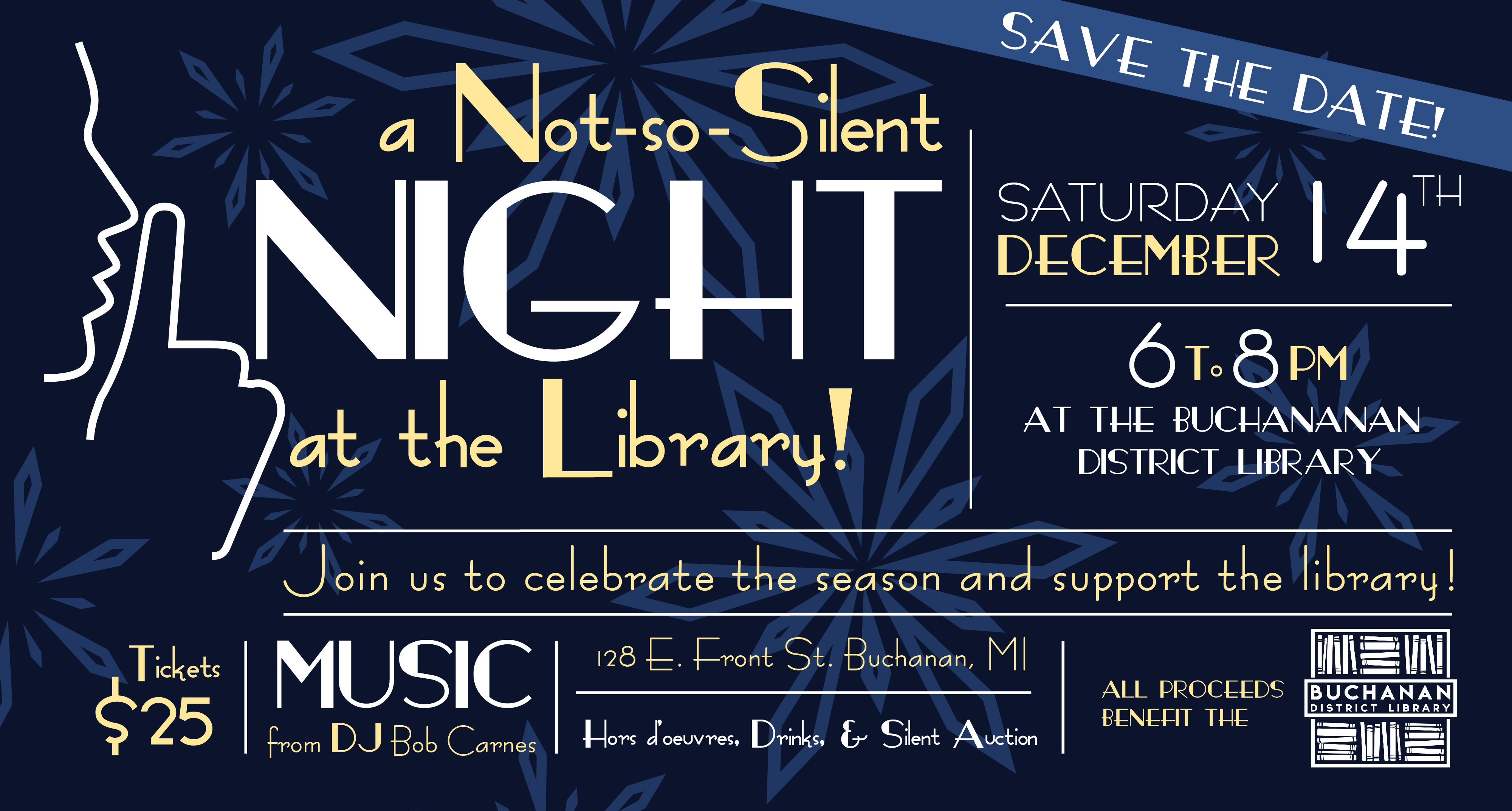 A Not-So-Silent Night at the Library