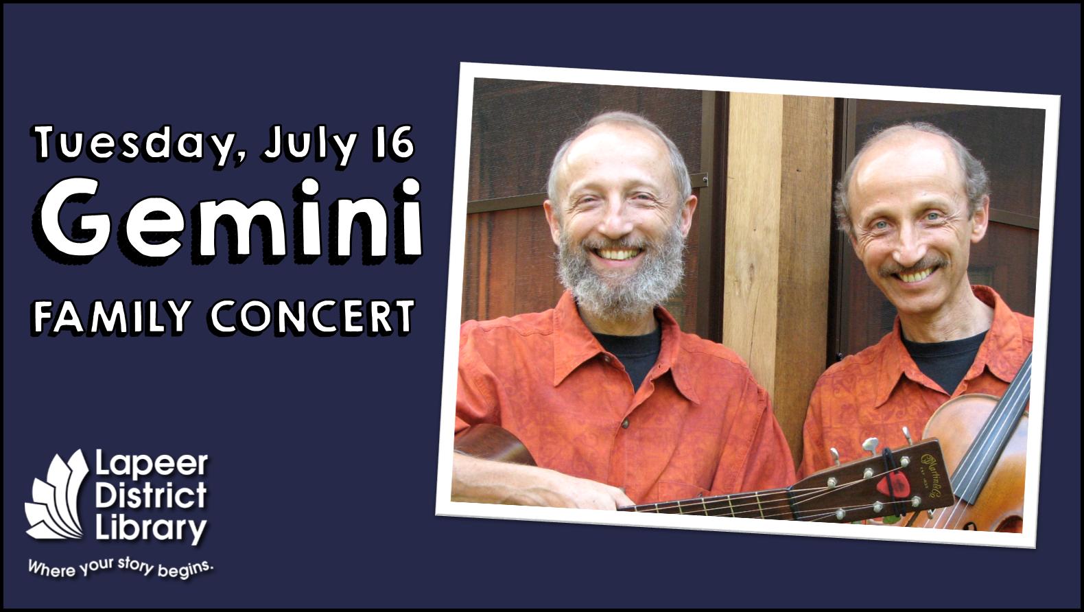 Gemini - Family Concert