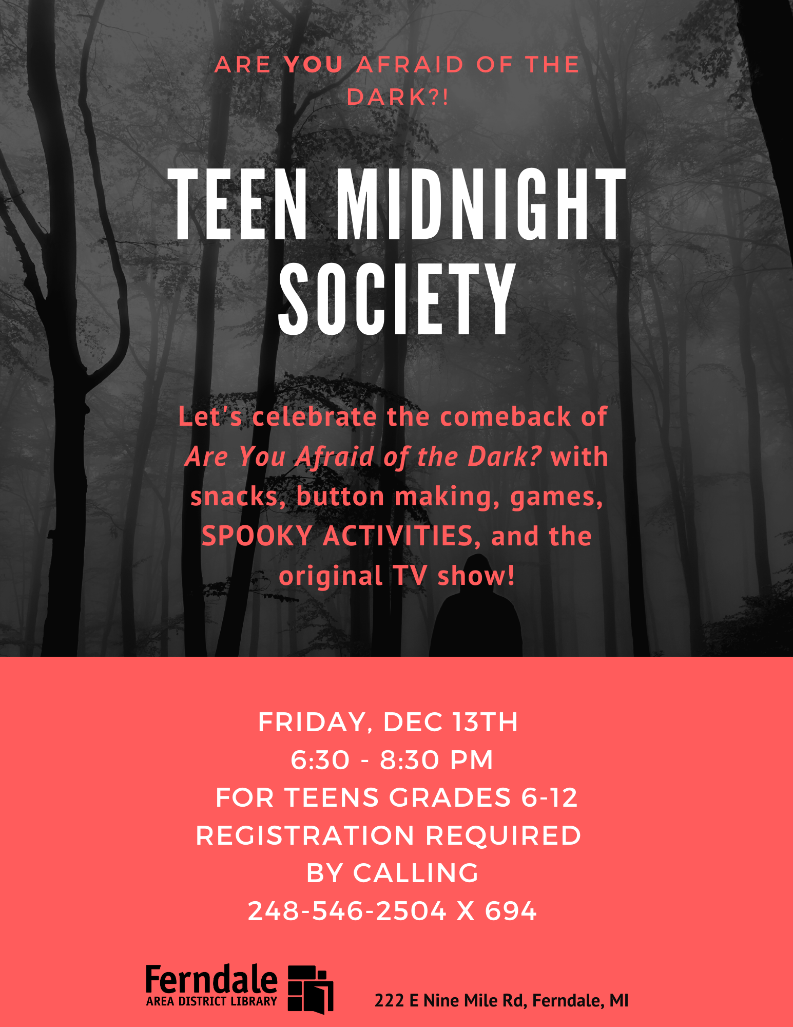 Midnight Society (Grades 6-12)