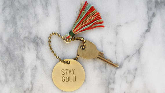 Maker Monday for Teens: Hand-Stamped Metal Keychains