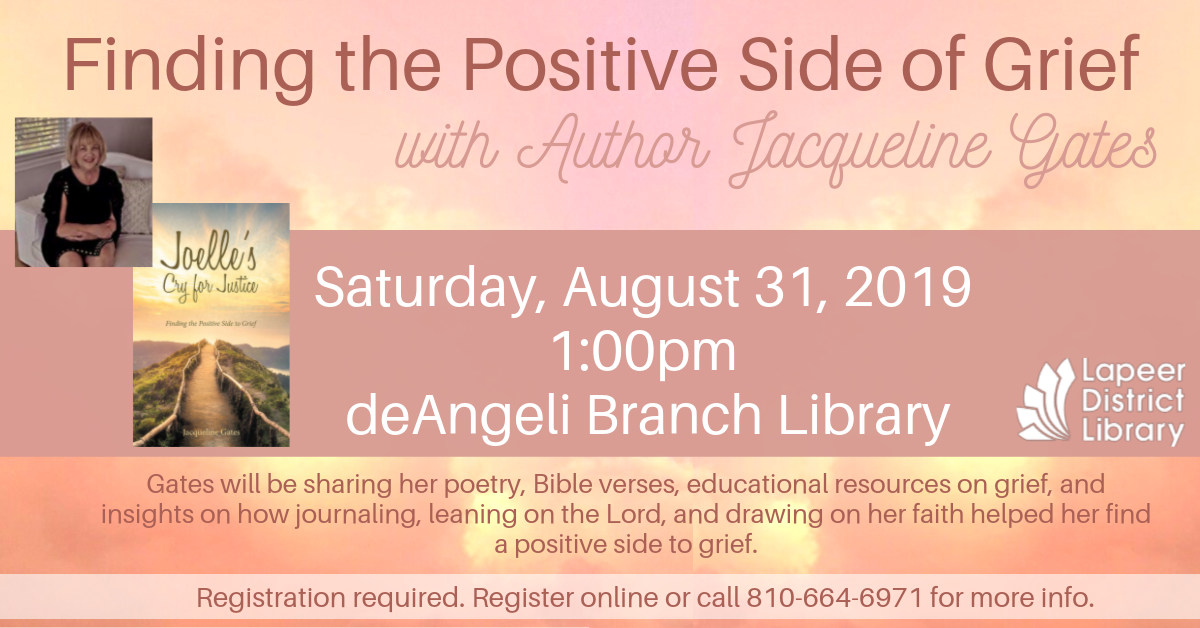 Finding the Positive Side of Grief with Jacqueline Gates