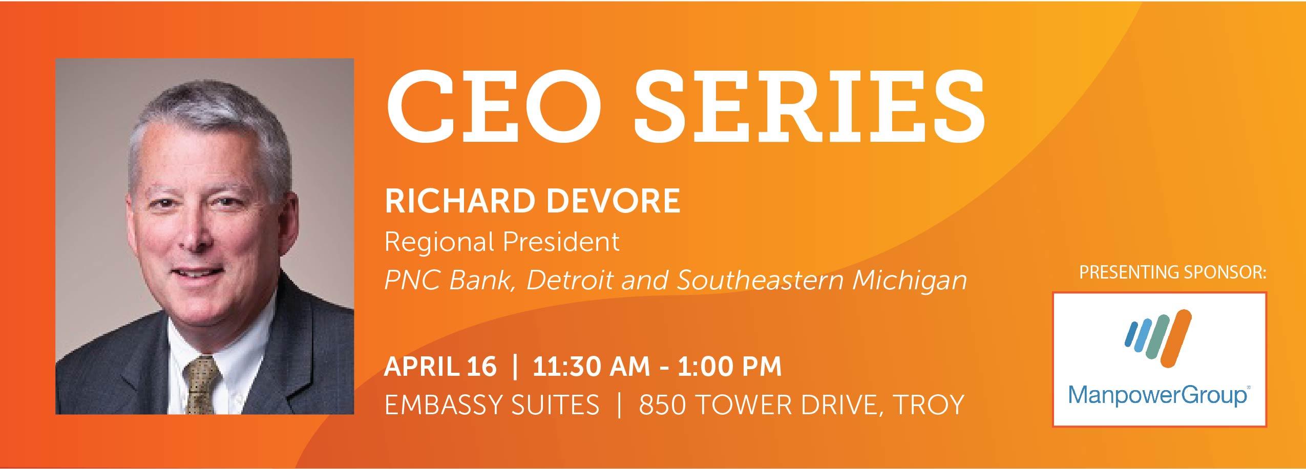 CEO Series: Richard DeVore
