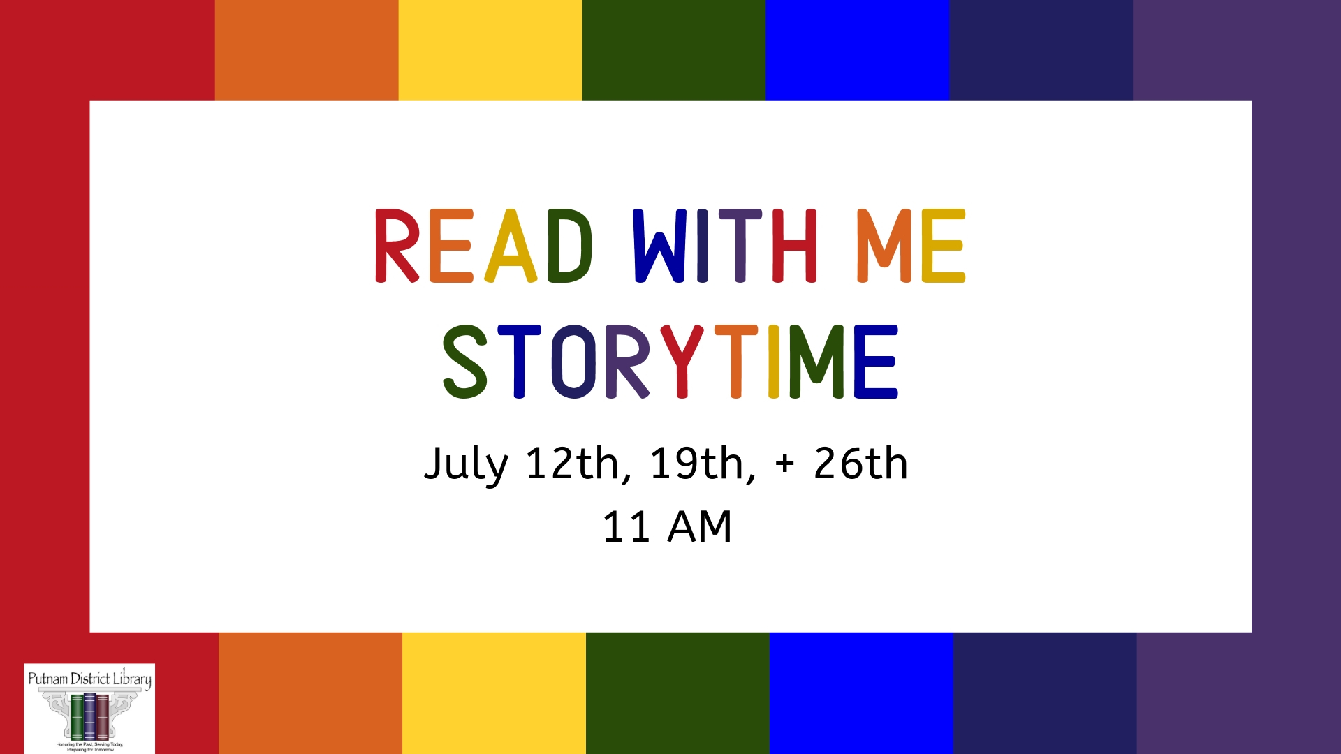 Read With Me Storytime