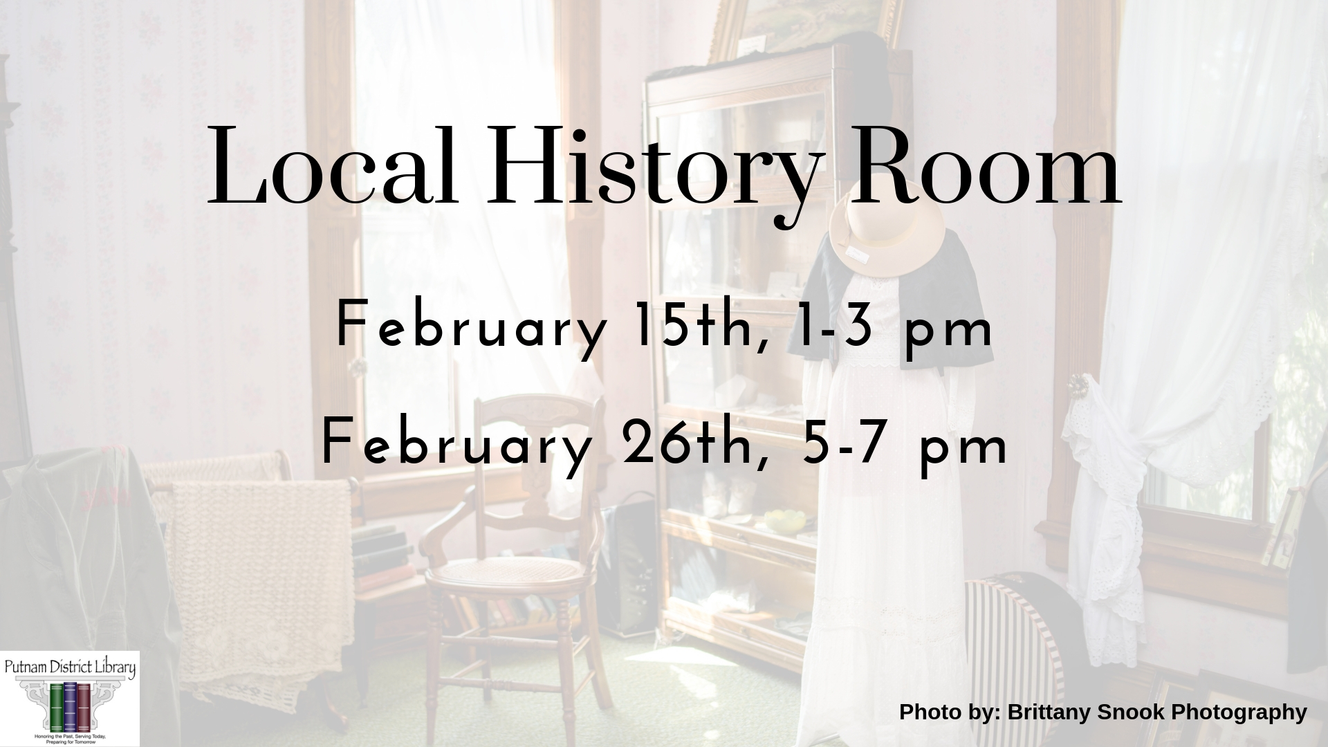 Local History Room is Open!