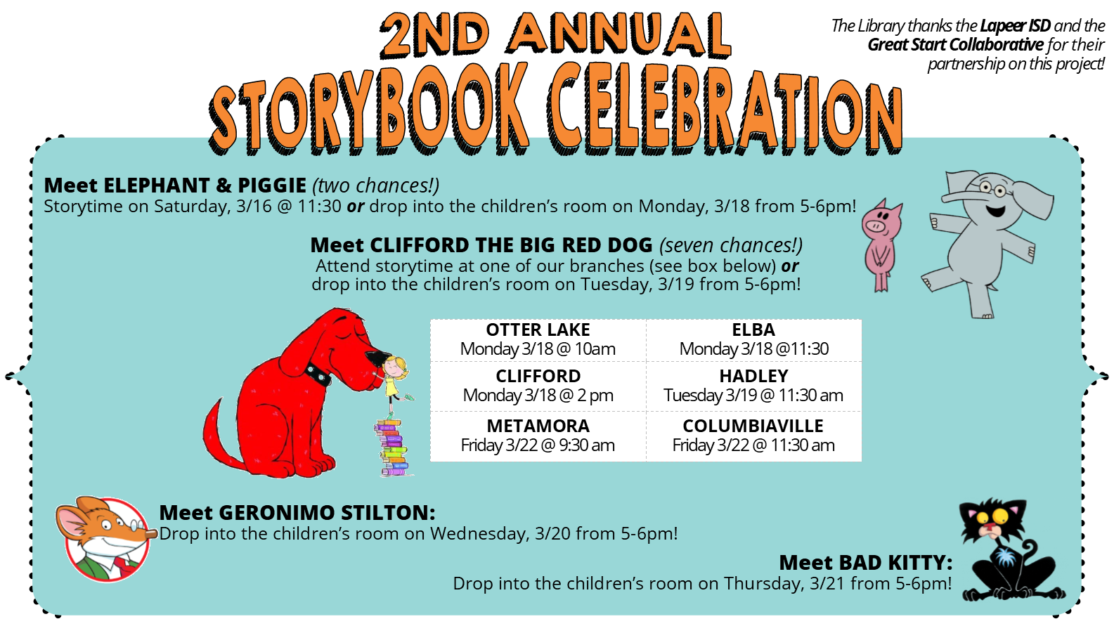 Meet & Greet with Clifford the Big Red Dog